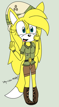 Melody as Daring Do by XMy-Little-MelodyX