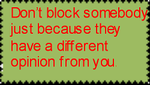 Don't abuse the block system by LordOfstamps