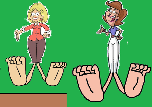 Rita Loud and Mrs. Turner's Soles by Jerrybonds1995