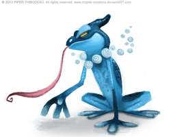 DAY 350. Frogadier by Cryptid-Creations