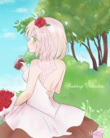 Wedding Valentine by Nearmoki-2b
