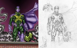 Prowler By Spiderguile + Pencils by Walfiend2