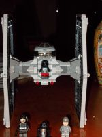 LEGO TIE FIGHTER by TMNTFAN85