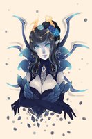 Leaguestuck Vriska 2 by berrycoat