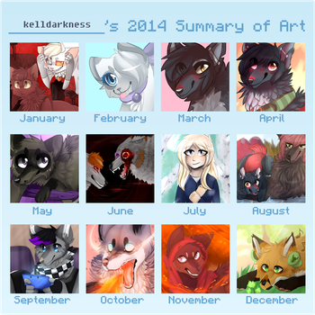 2014 Summary of Art by Kedak