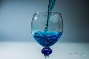 Blue Drink by BESH-LC