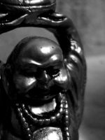 The laughing Buddha by crazycreepydreams