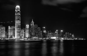 Another day ends Monochrome by AndrewToPhotography