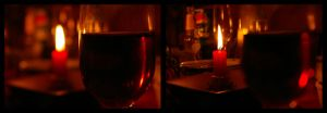 Wine and Candlelight by CyberPhantom