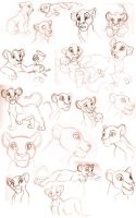 Lion King sketches by sapphireluna