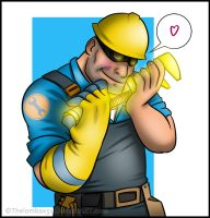 TF2 - The Golden Wrench by RatchetMario