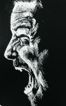 Angry man | face portrait #1 by Elsuri