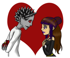 Pagan Crafta and Andy Riod by monsterhighlover3