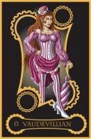 Steampunk Tarot of the Fool by flamarahalvorsen