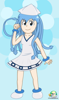 Ika Musume (Squid Girl) by The-Bryce-Is-Right
