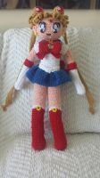 Crochet Sailor Moon by Maw1227