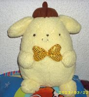 Sanrio plush Collection *UPDATE* Big Pom Pom Purin by kratosisy