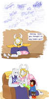 Undertale - Baby Makes 5 (What if) by TC-96