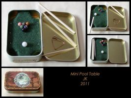 Mini Pool Table by VampirateMace
