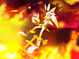 Fighting the Flames by koda-soda
