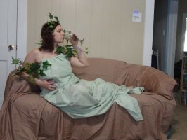 Mucha Inspired - Ivy Reclined 14 by HiddenYume-stock