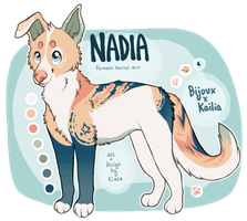 Nadia by starry-fruit