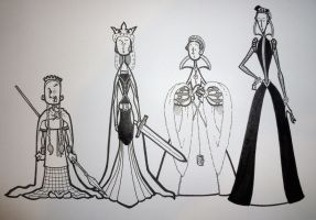 Substitute Queens by BevisMusson