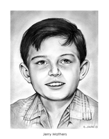 Jerry Mathers as the Beaver by gregchapin