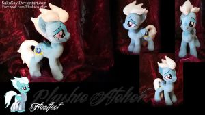 Cuddly Fleetfoot Custom Plushy by SakuSay