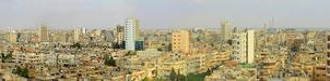 Panorama of Homs City - 200-Degree Angle by MunzerLens