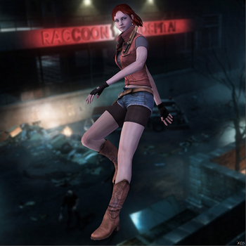 Claire Redfield by Sticklove