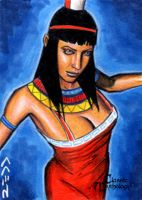 Nephthys Sketch Card - Jack Redd by Pernastudios