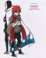 ::Subaku No Gaara:: by Stray-Ink92