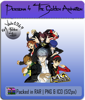 Persona 4 The Golden Animation Folder Icon by Viole1369