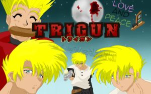 Vash the Stampede - Trigun wallpaper by UsagiTail