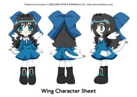 Wing Character Sheet by kurokumo