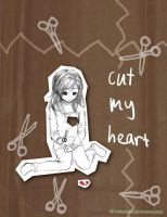 Cut My Heart by poplarleaves