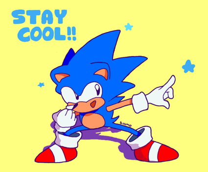 Stay Cool Sonic by bulgariansumo