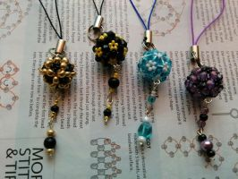 Beaded Phone Straps by Heartage