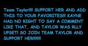 JOIN TEAM TAYLOR SWIFT by Kielana