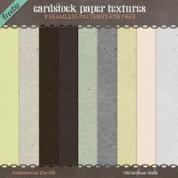 Free CU4CU Cardstock Paper Patterns by starsunflowerstudio