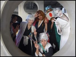 Small Bleach group by headraline