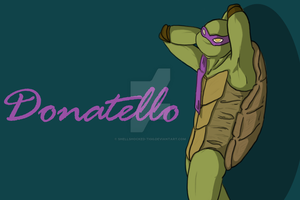 Donatello by Shellshocked-Tigg