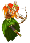 [ MADAME BREE CAROTTE ]  The ruler of archers by IustinianieArchers