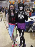 Homestuck Feferi and Kurloz! by The-1One