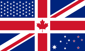 Anglosphere flag by dominichemsworth