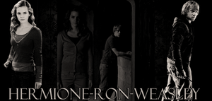 Hermione-Ron-Weasley by N0xentra