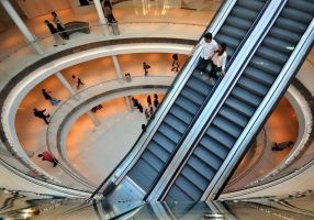 Stairway to Shopping by endegor