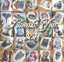 Thank you for an amazing year by AtomiccircuS