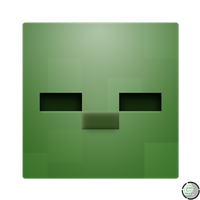 Minecraft - Zombie Head Icon by CoopaD